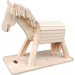 Kleines Pferd Pauline, natur