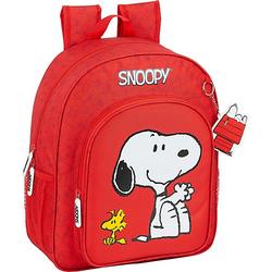Kinderrucksack Peanuts Snoopy rot