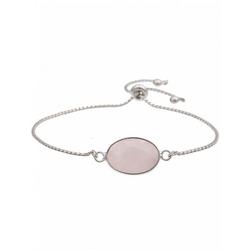 leslii Modeschmuck-Armband mit zarter Gliederkette silberfarben