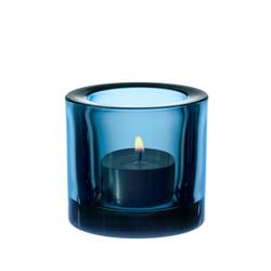 Iittala Kivi Teelichtglas Türkis 6 cm Geschenkbox