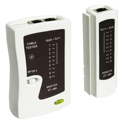 Leitungstester, Netzwerktester, Kabeltester für RJ11, RJ12, RJ45, ISDN, CAT5, CAT6