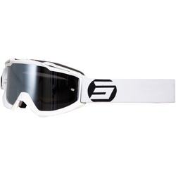 Shot Iris Symbol Motocross Brille, weiss