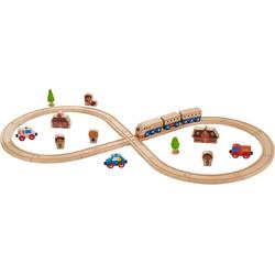 EverEarth® Spielzeug-Eisenbahn Eisenbahn-Set, (Set, 32-tlg)