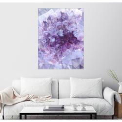 Posterlounge Wandbild, Lichtkristall 50 cm x 70 cm