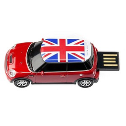 GENIE USB-Stick Mini Cooper rot 32 GB