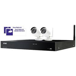 Urmet SET 1098/800 1098/800 Funk-Funk-Überwachungs-Set 4-Kanal mit 2 Kameras 1920 x 1080 Pixel 2.4G