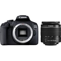 Canon EOS 2000D Kit 18-55 mm DC III Spiegelreflexkamera (EF-S 18-55mm f/3.5-5.6 III, 24,1 MP, WLAN (WiFi), NFC)