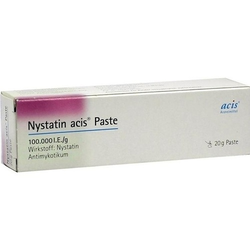 NYSTATIN acis Paste 20 g