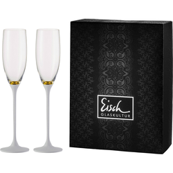 Eisch Sektglas Champagner Exklusiv (2-tlg.) weiß Kristallgläser Gläser Glaswaren Haushaltswaren Trinkgefäße