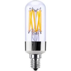 SEGULA Tube LED-Leuchtmittel, E14, 1 Stück, Warmweiß, klare LED Lampe, LED Lampe dimmbar, E14 LED, LED Leuchtmittel dimmbar, Mini LED Lampe, dimmbare LED, LED mit viel Licht, warmweiß dimmbar, LED Tube hell