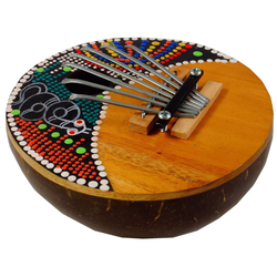 Guru-Shop Spielzeug-Musikinstrument Musikinstrument aus Holz, Musik Percussion.. 15 cm x 5 cm x 15 cm