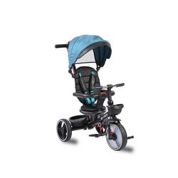 Byox Dreirad Tricycle 3 in 1 Dreirad Classic, Sitz drehbar klappbar Teleskop-Lenkstange blau