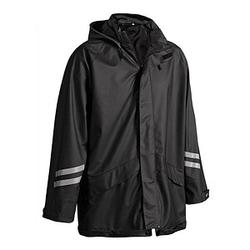 BLAKLÄDER® unisex Regenjacke 4301 schwarz Größe XL