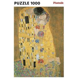 Piatnik Puzzle Klimt, Der Kuss, 1000 Puzzleteile