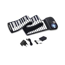COSTWAY Keyboard Rollpiano, 88 Tasten, mit Sustain Pedal, Bluetooth und MIDI Funktion 19 cm x 137 cm