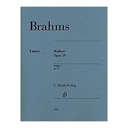 Walzer op. 39 für Klavier zu 2 Händen. Johannes Brahms  - Buch