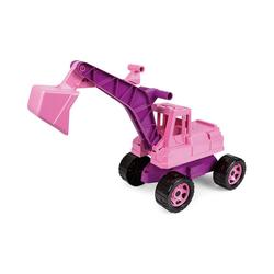 Lena® Spielzeug-Aufsitzbagger GIGA TRUCKS Sitzbagger, rosa, ca. 70 cm