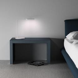 Flo Bedside - schwarz soft-touch