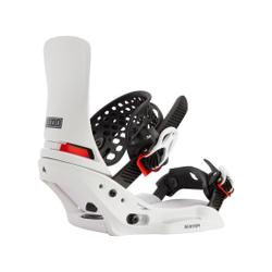 Burton - Lexa X Est White 202 - Snowboard Bindungen - Größe: M (36,5-40)