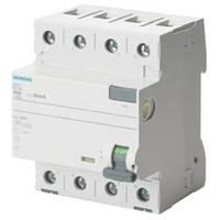 Siemens 5SV33446KK03 FI-Schutzschalter 40A 0.03A 400V