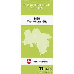 Wolfsburg Süd 1 : 25 000. (TK 3630/N) - Buch