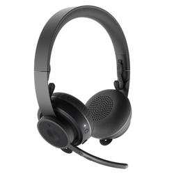 Logitech Zone Wireless Office Headset , Bluetooth 5.0, ANC, Dual Connect