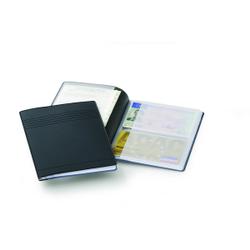 DURABLE Ausweis- und Kreditkartenhülle, Für Ausweis- und Kfz-Papiere sowieso 4 Scheckkarten, 1 Stück