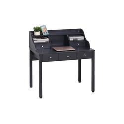 HOMCOM Schreibtisch Schreibtisch mit Schubladen