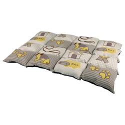 Trixie Decke Patchwork taupe/beige
