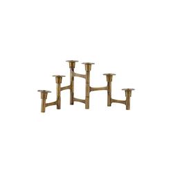 House Doctor Kerzenständer Move 17x50 cm Messing