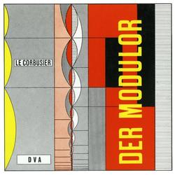 Le Corbusier - Der Modulor als Buch von LeCorbusier