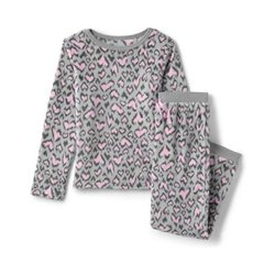 Pyjama-Set aus Plüsch-Fleece - 116/122 - Pink