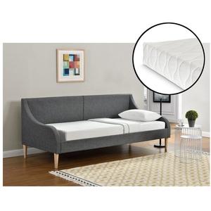 Corium Einzelbett, Arendal Tagesbett mit Kaltschaummatratze 90x200 cm