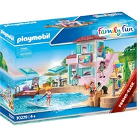 Playmobil Family Fun Eisdiele am Hafen
