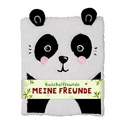 Freundebuch - Kuschelfreunde - Meine Freunde (Panda)