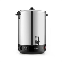 Klarstein KonfiStar 40 Einkochautomat Getränkespender 40L 110°C 120min Edelstahl