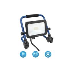 ANSMANN® LED Baustrahler Baustrahler LED 20W – Baustellen Lampe, Bau Leuchte, IP54 wetterfest