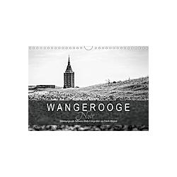 Wangerooge Noir (Wandkalender 2021 DIN A4 quer)
