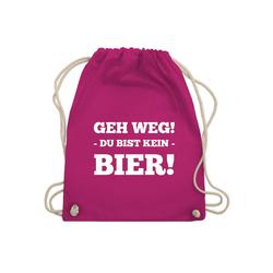 Shirtracer Turnbeutel Geh Weg! Du bist kein Bier! - Festival Turnbeutel - Turnbeutel - Jutebeutel & Taschen, rucksack geh weg du bist kein bier