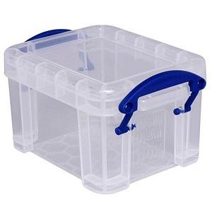 Really Useful Box Aufbewahrungsbox 0,14 l transparent 6,5 x 5,5 x 9,0 cm