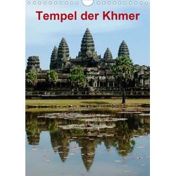Tempel der Khmer (Wandkalender 2021 DIN A4 hoch)