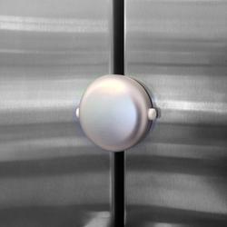 Qdos Adhesive Fridge/Freezer Lock - Chrome