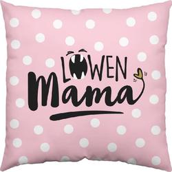 Baumwoll-Kissen Löwen-Mama