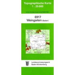 Weingarten (Baden) 1 : 25 000