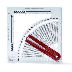 PRYM Strickrechner mit Zählrahmen, 100% Kunststoff, Zubehör, Strickrechner & Zählrahmen