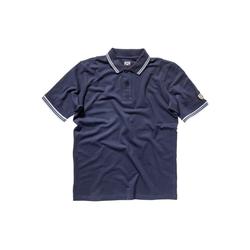 Dolomite Kurzarmshirt Dolomite Poloshirt Herren 76 (1-tlg) blau L