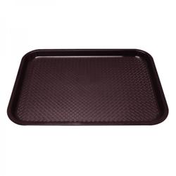 Kristallon Fast Food Tablett 305 x 415mm braun