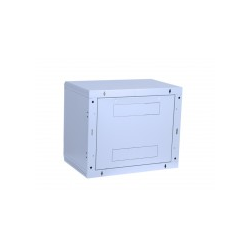 """TRITON Delta B Schrank geeignet für Wandmontage RAL 7035 4U 48.3 cm 19"""" """"Rack-Wandmontage / 400 Glastür (RBA-04-AS4-CAX-A1)"""