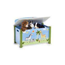 HTI-Living Sitztruhe Sitztruhe Spielzeugkiste blau