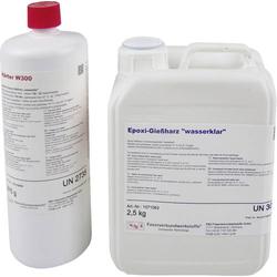 R & G 1071024 Epoxid-Gießharz (wasserklar) 2.5kg + Härter W300 875g 1 Set